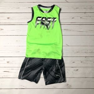 Boys Puma Set of Tanks and Shorts (Read Desc)